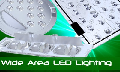 Wide Area LED Lighting - Optical Solutions for Power LED Lighting